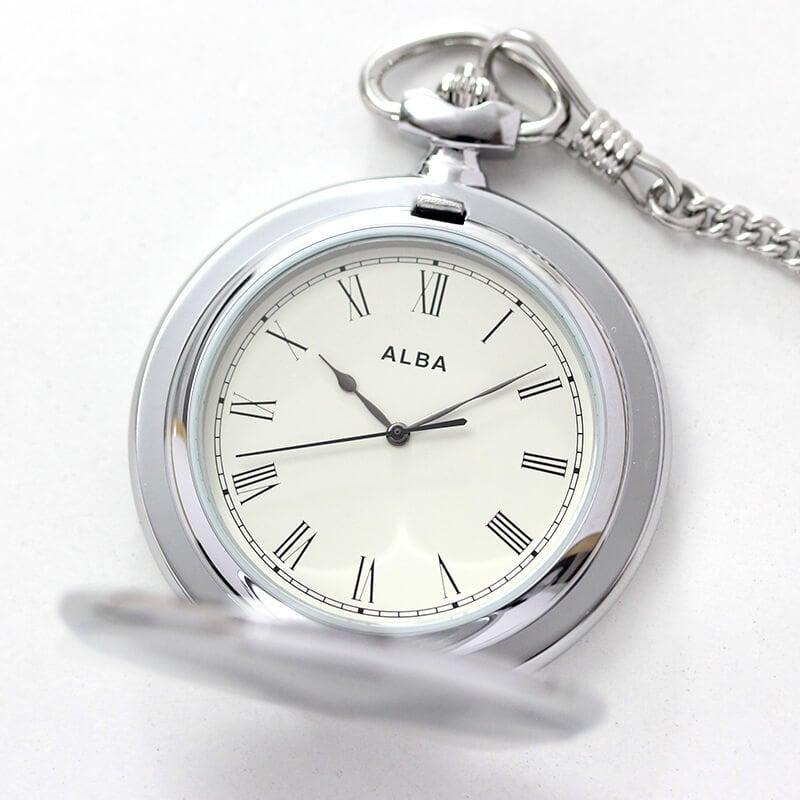 セイコーALBA懐中時計aqgk448