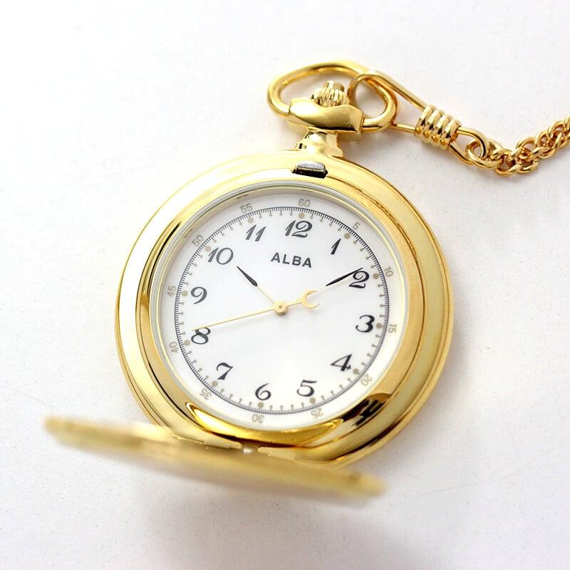 セイコーALBA懐中時計aqgk449