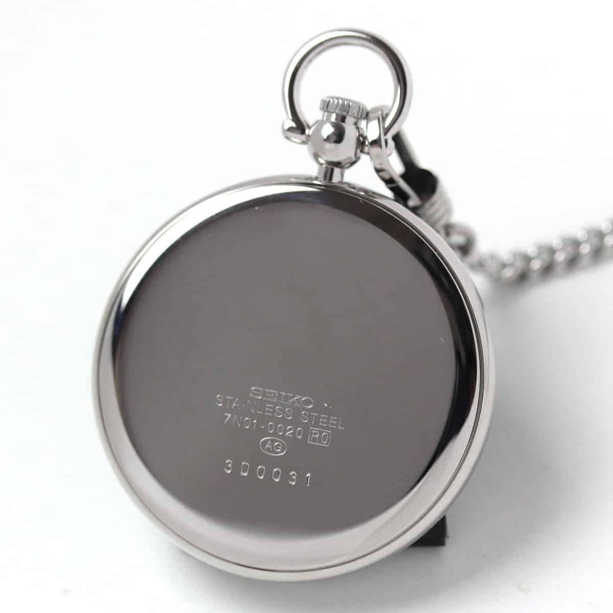 セイコー懐中時計 SAPB003 裏側