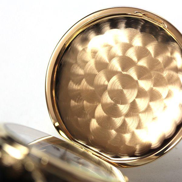 セイコー懐中時計 sapq004 蓋の内側が魚鱗模様