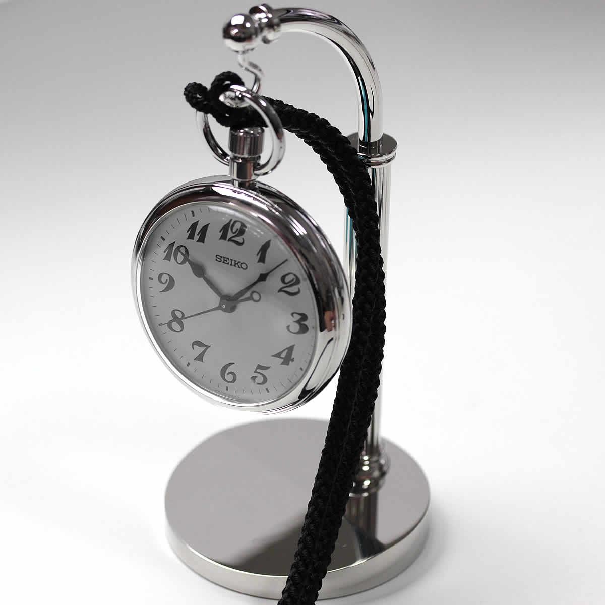 懐中時計スタンド 金メッキ
