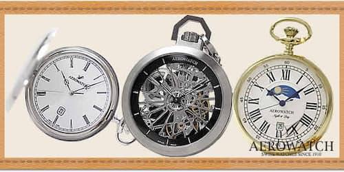 アエロ(AERO)懐中時計
