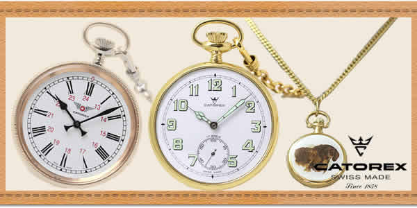 CATOREX(カトレックス)懐中時計