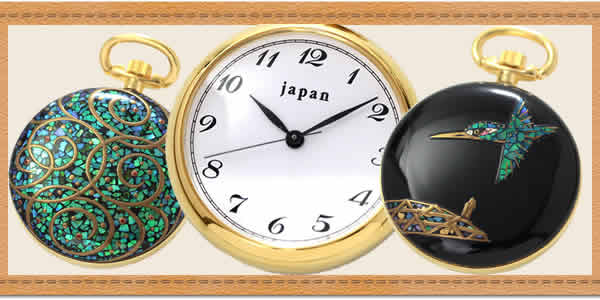 japan(ジャパン)懐中時計