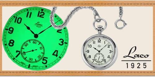 Laco ラコ ミリタリー懐中時計