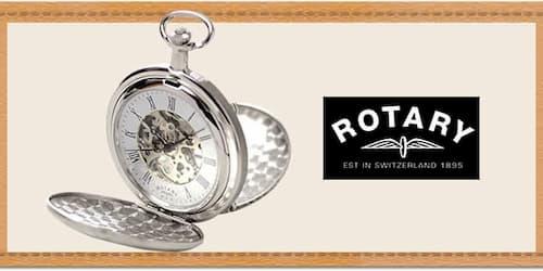 ロータリー懐中時計