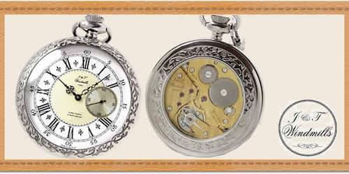 J&Tウィンドミルズ(windmills)懐中時計