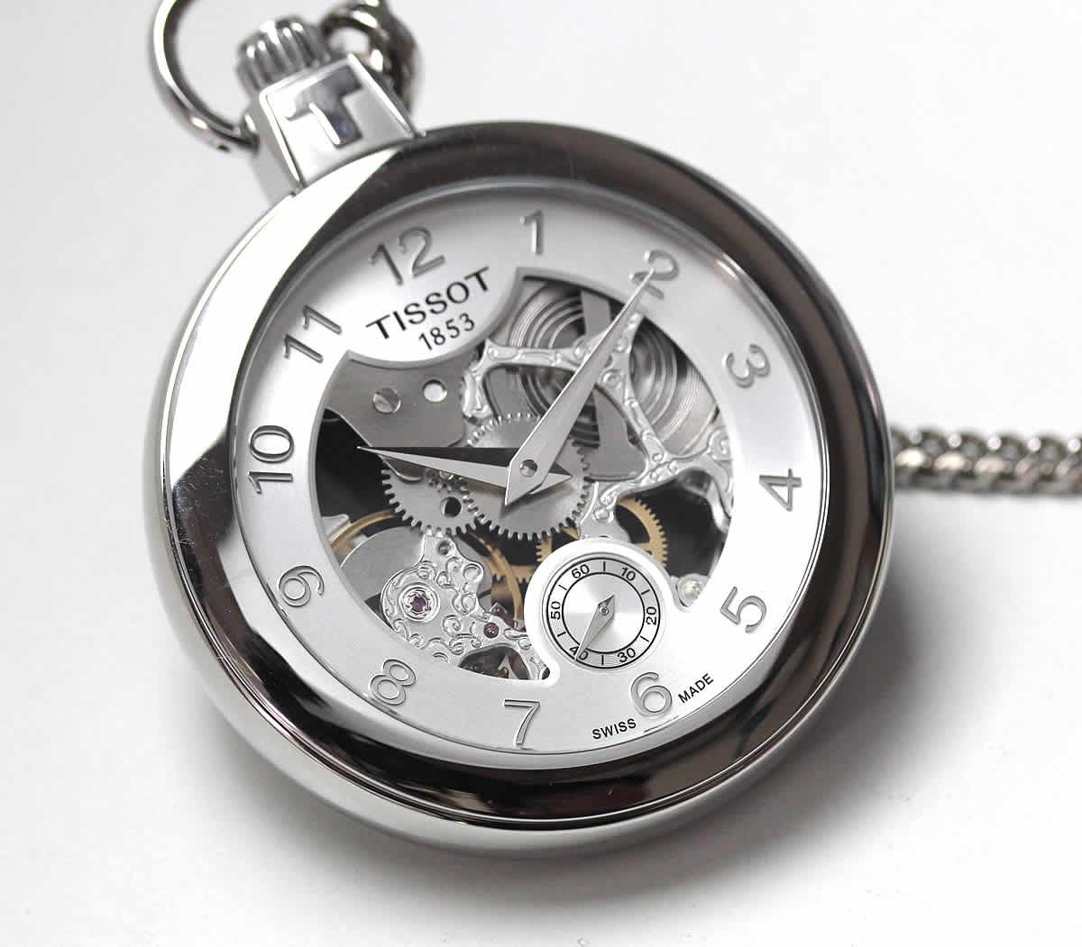 ティソ 手巻き式 機械式 懐中時計