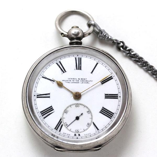 イギリスの老舗ブランド、1800年代に制作された鍵巻き式ムーブメント