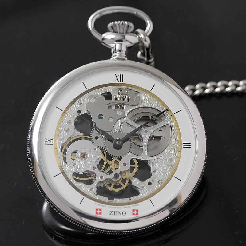 ケース径55mmの大型懐中時計