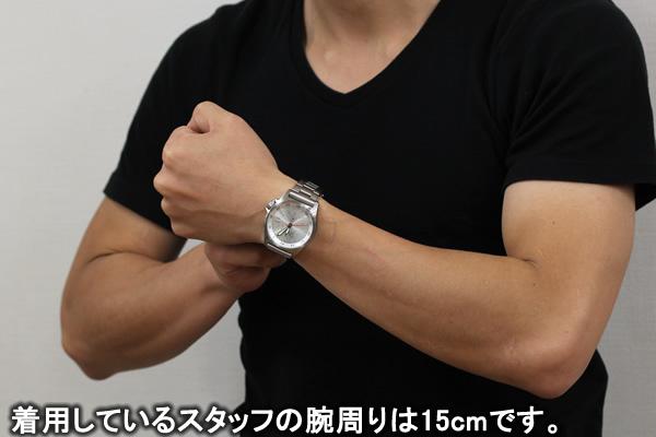 Kentexケンテックス 腕時計 正美堂男性スタッフ着用