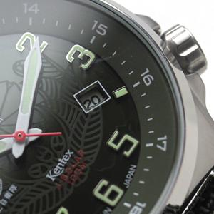 s715m-01 Kentex JSDF ソーラー 腕時計 カレンダー