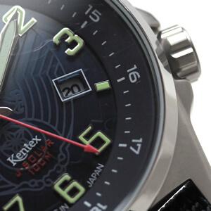 s715m-02 Kentex JSDF ソーラー 腕時計 カレンダー