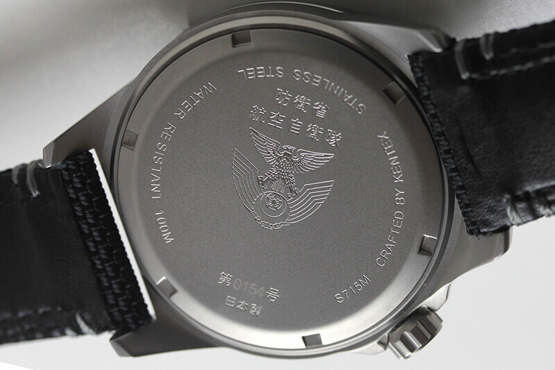 s715m-02 ケンテックス Kentex JSDF クォーツ メンズウォッチ