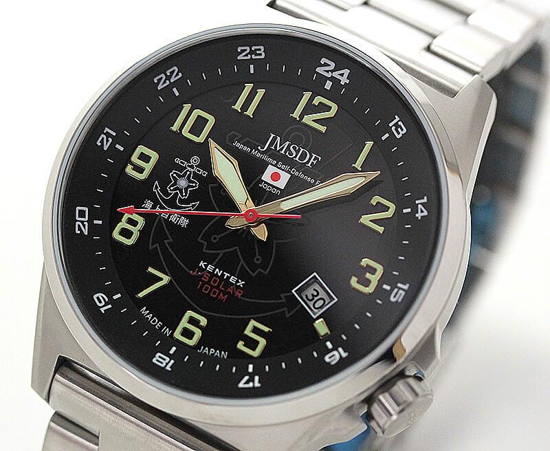 ケンテックス ソーラー時計