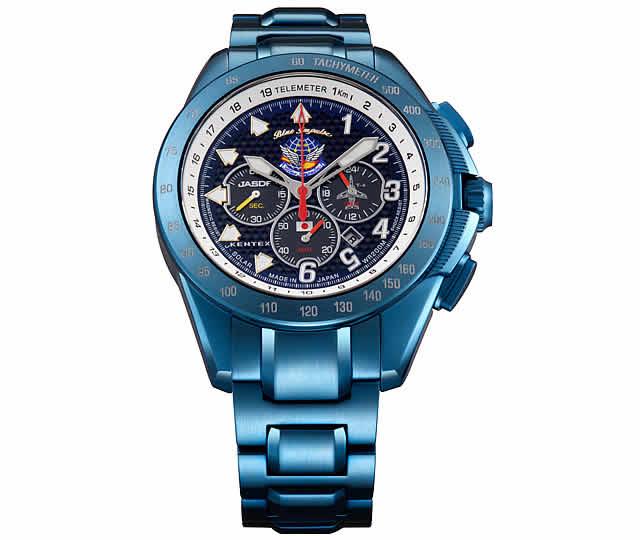 ケンテックス腕時計 ソーラー