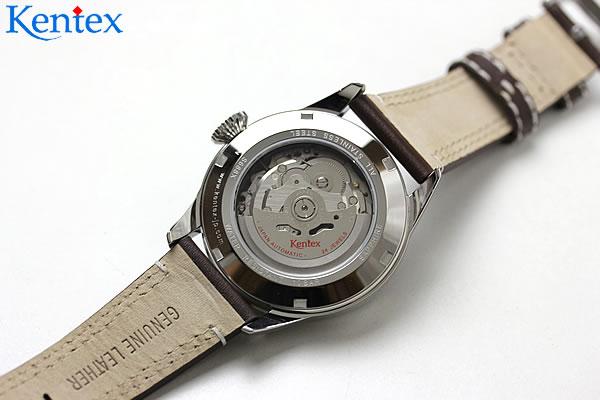 自動巻き腕時計 シースルーバック
