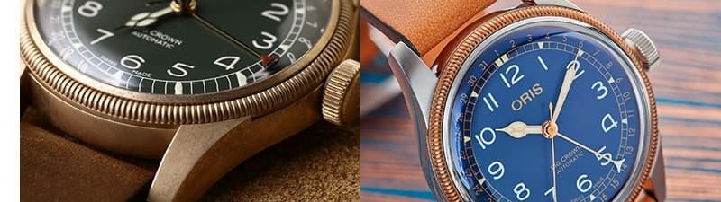 オリス ORIS ビッグブラウン ブロンズ 腕時計