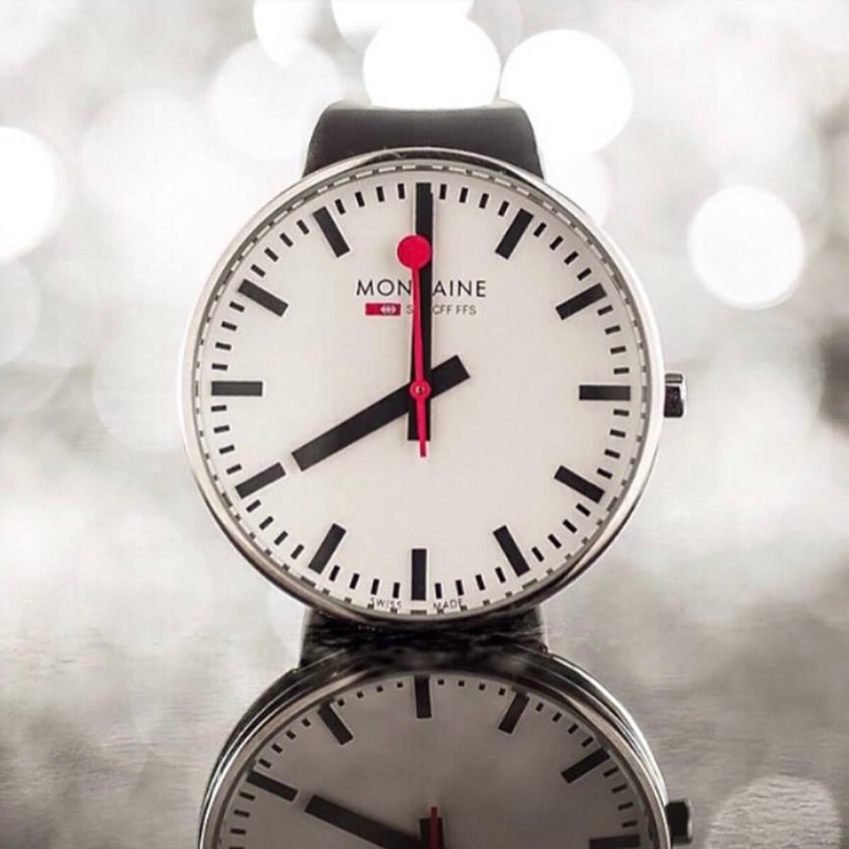 MONDAINE(モンディーン) 腕時計 ブランドイメージ インスタ クリスマスプレゼント 彼氏 鉄道時計 社会人 大学生
