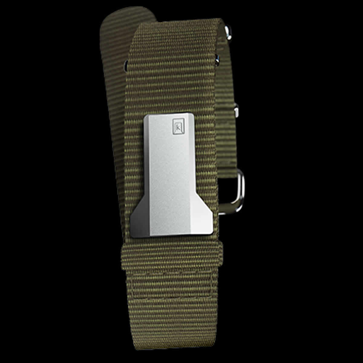 klokers(クロッカーズ) 腕時計用ベルト オレンジ ストラップ Vert Amande (ヴェール・アマンド)