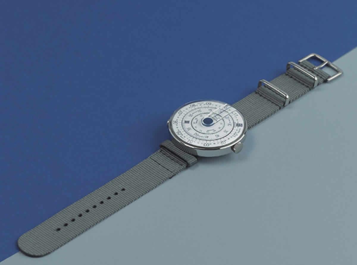 klokers(クロッカーズ) 腕時計用ベルト 着用例
