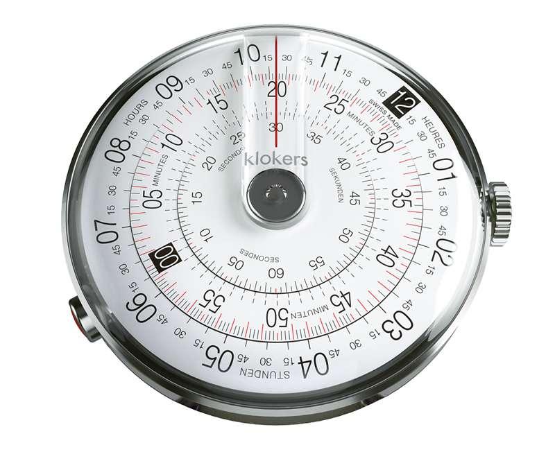 klokers クロッカーズ クローカーズ 時計 計算尺から着想を得た個性派ウォッチ klok01d1