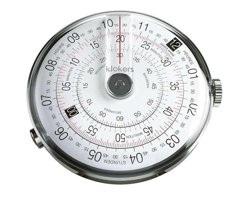 klokers クロッカーズ クローカーズ 時計 計算尺から着想を得た個性派ウォッチ klok01d2