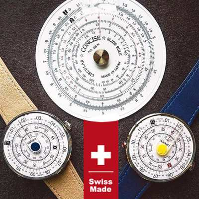 klokers クロッカーズ クローカーズ 時計 計算尺から着想を得た個性派ウォッチ klok01d4