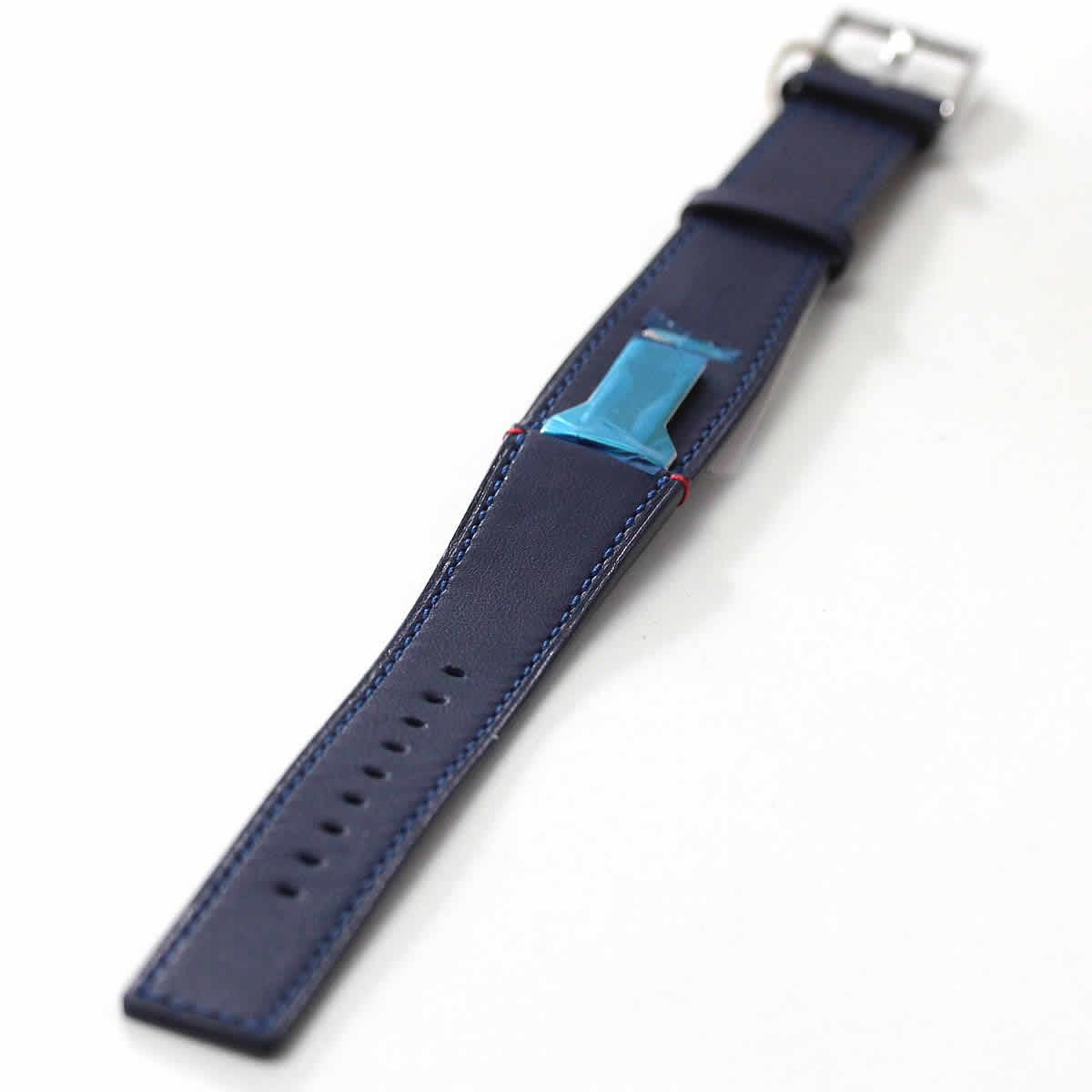 klokers(クロッカーズ) 腕時計用ベルト インディゴブルー