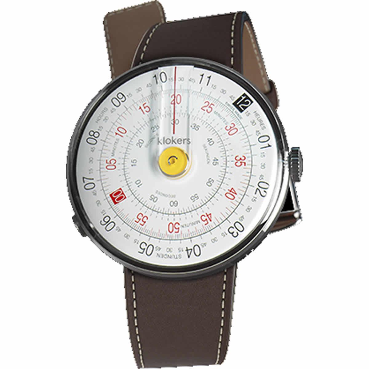 klokers(クロッカーズ) 腕時計用ベルト ブラウン