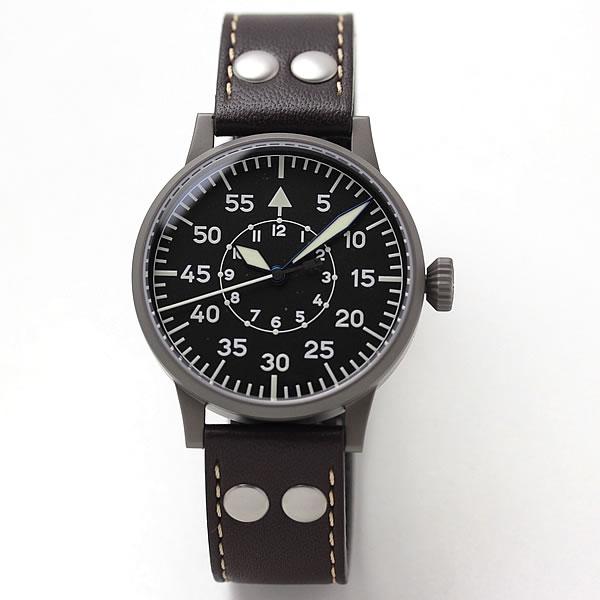 ラコ(Laco) 手巻き式 「ライプチヒ」パイロットウォッチ 861747