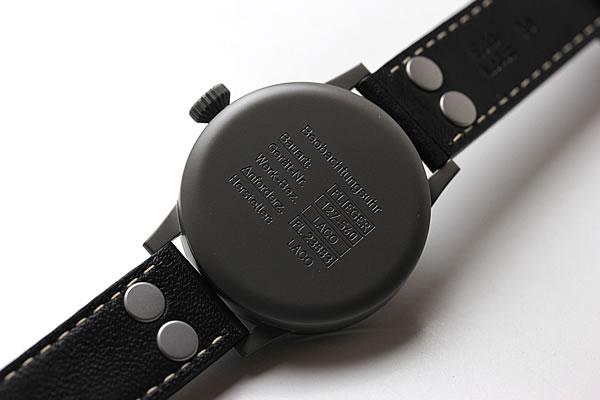 ラコ腕時計 裏蓋