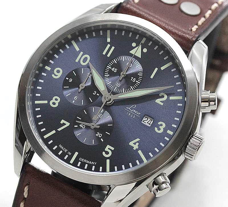 クォーツ式 クロノグラフ 腕時計