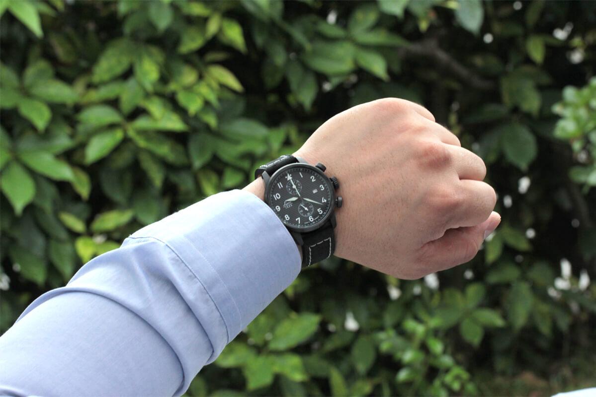 スーツにも似合う腕時計 laco ラコ