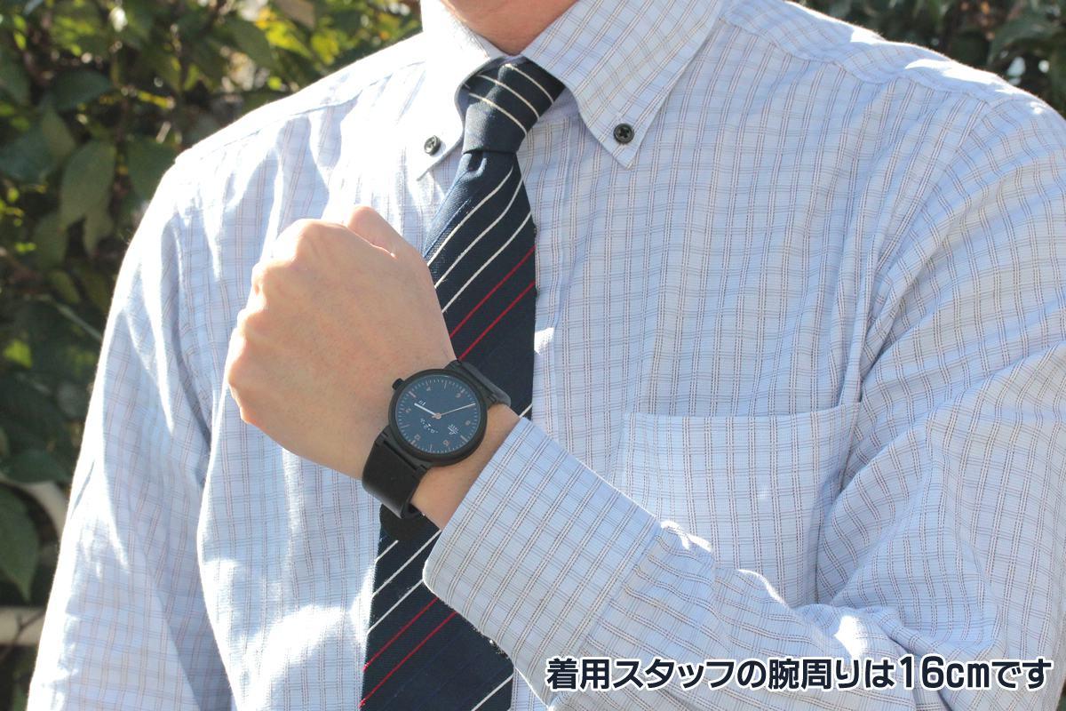 LACO Absolute ラコ アブソルート 880204 正美堂の男性スタッフが着用。腕周りは16cmです。