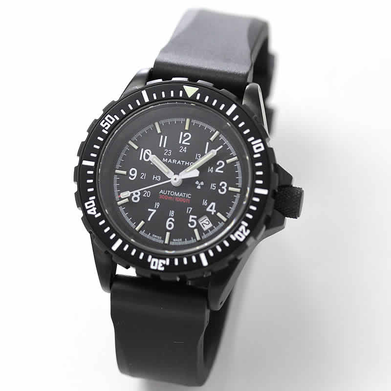 MARATHON(マラソン) GSAR(ジーサー)アンスラサイト  自動巻き ダイバーズウォッチ 1024-0000307 腕時計