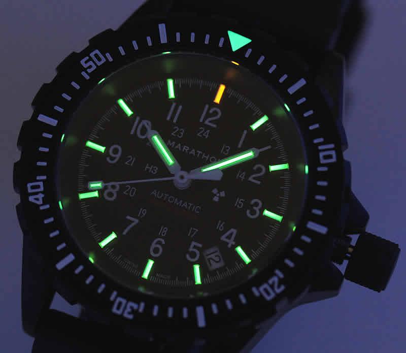 MARATHON GSAR  Divers 300M マラソン ジーサー 自動巻き  トリチウムウォッチ