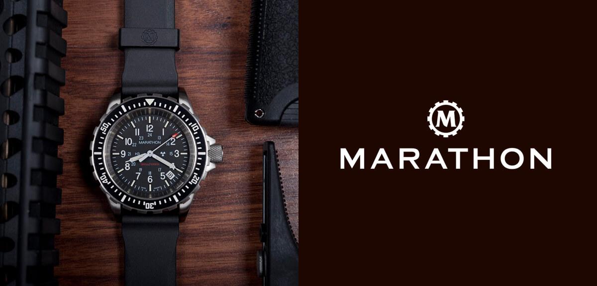 MARATHON(マラソン)腕時計 ダイバーズ ミリタリー