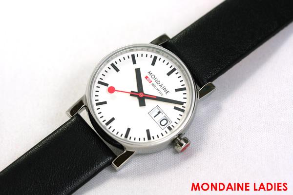 モンディーン 腕時計 エヴォ ビッグデイト レディース A669.30305.11SBB