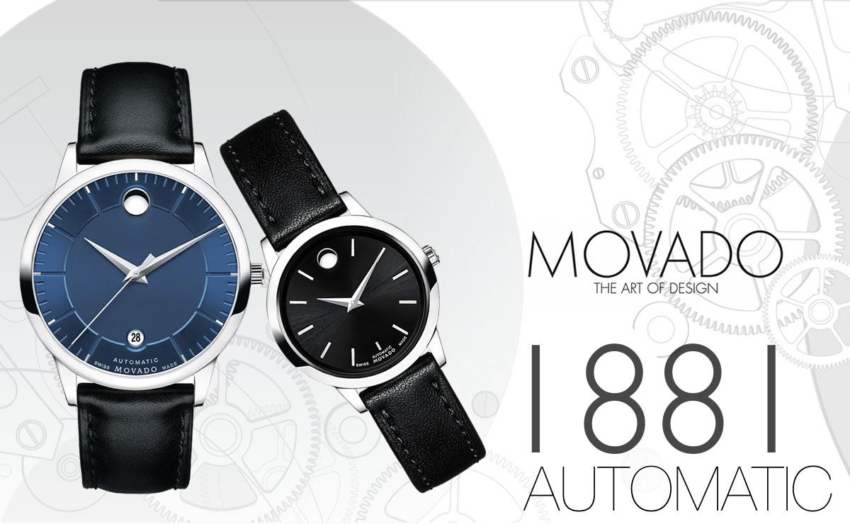 MOVADO(モバード)1881 AUTOMATIC ペアウォッチ m06068748107l-m06069238103l