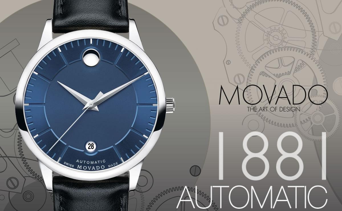 MOVADO(モバード)1881 AUTOMATIC m06068748107l