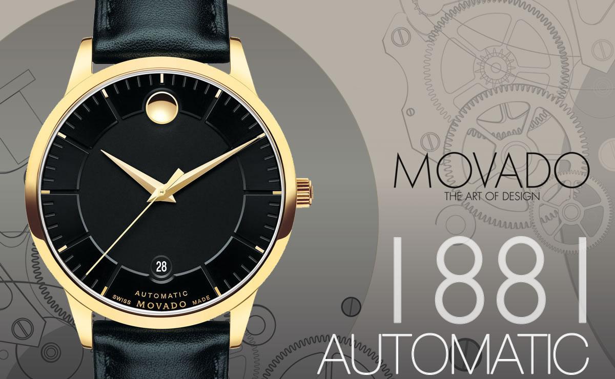 MOVADO(モバード)1881 AUTOMATIC m06068758303l