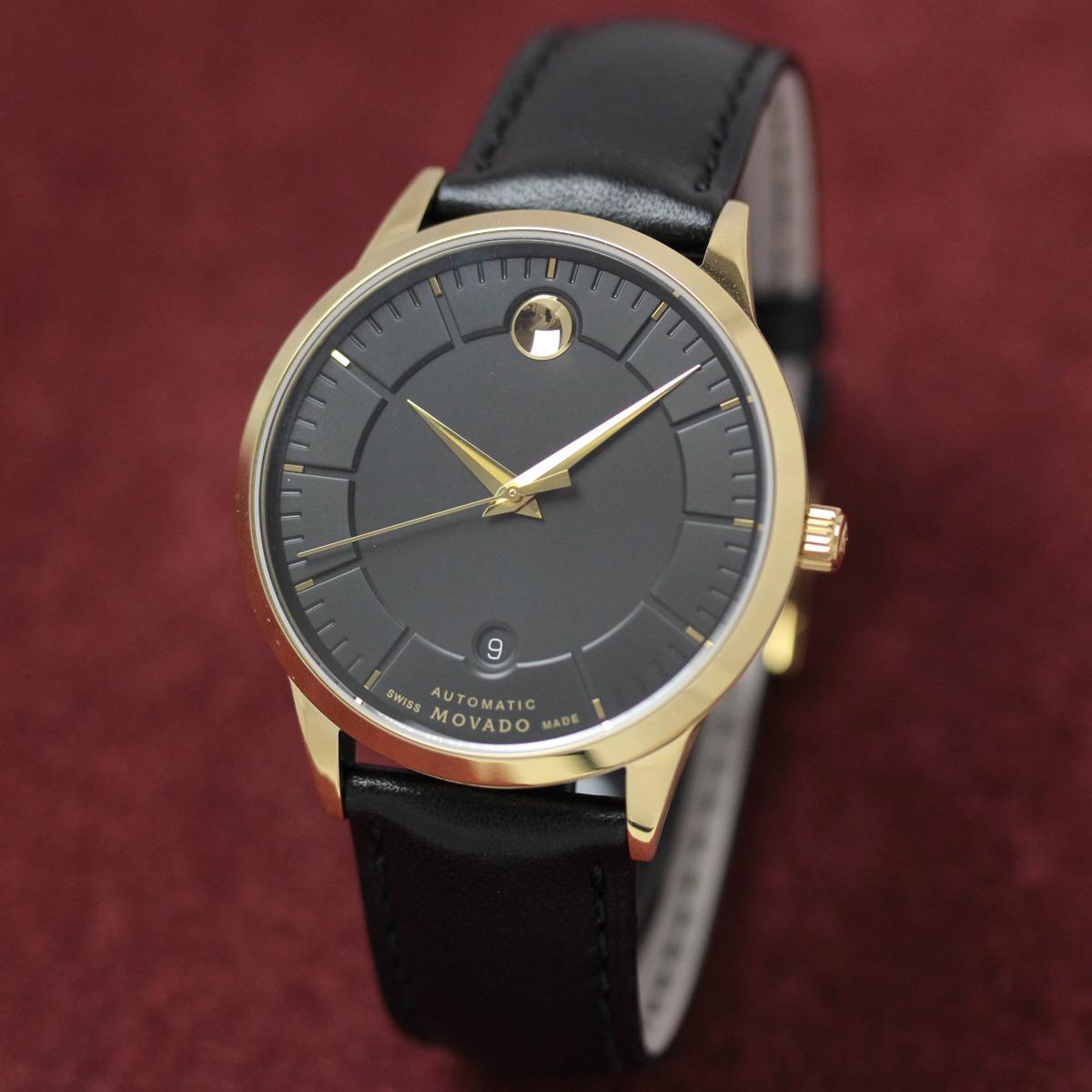 モバード 自動巻き 男性用腕時計m06068758303l