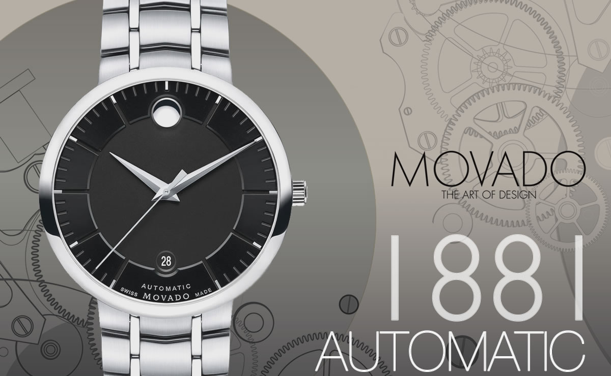 MOVADO(モバード)1881 AUTOMATIC m06069148103s