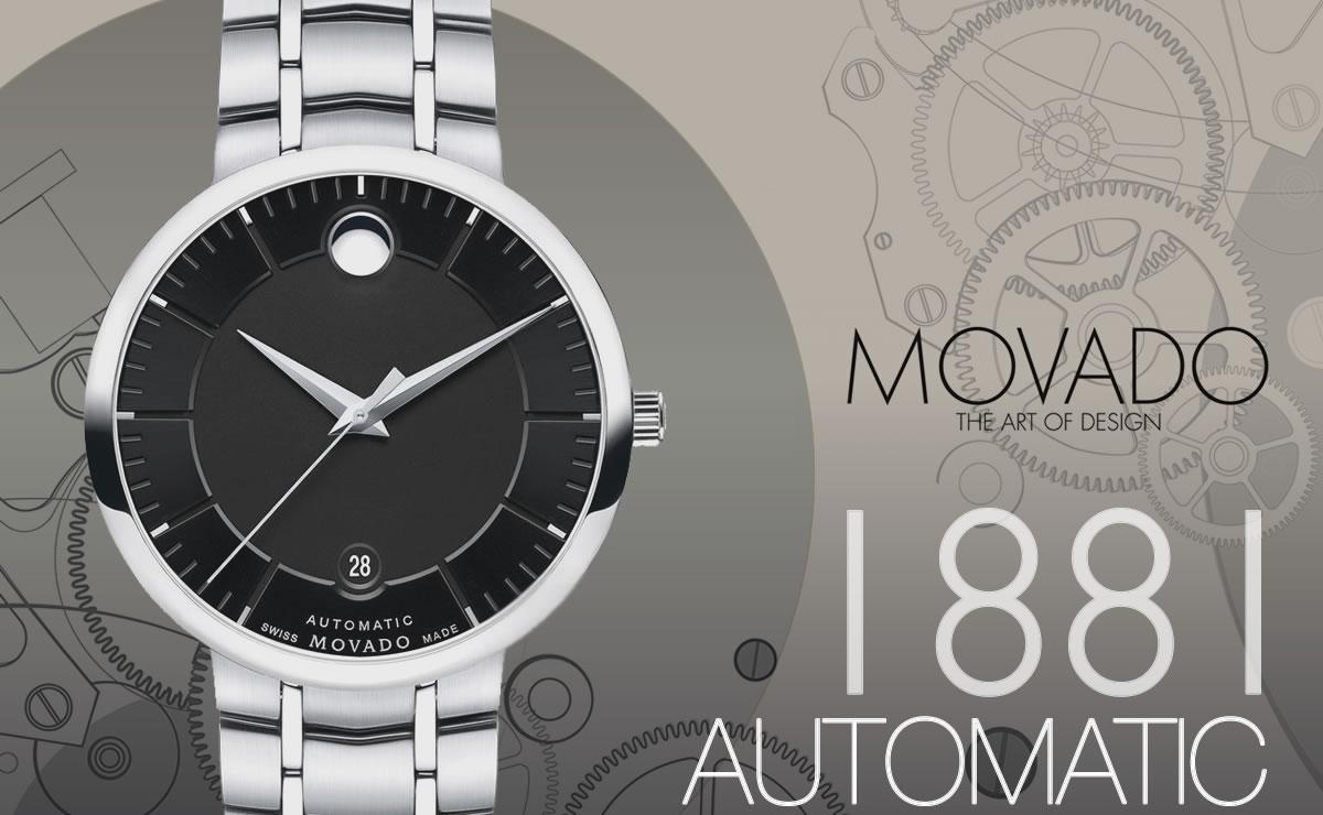 MOVADO(モバード)1881 AUTOMATIC m06069148103s