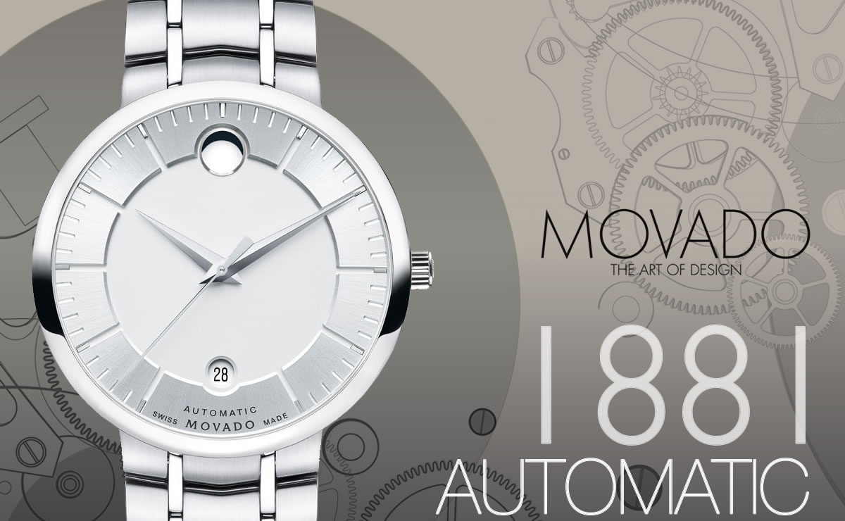 MOVADO(モバード)1881 AUTOMATIC m06069158105s