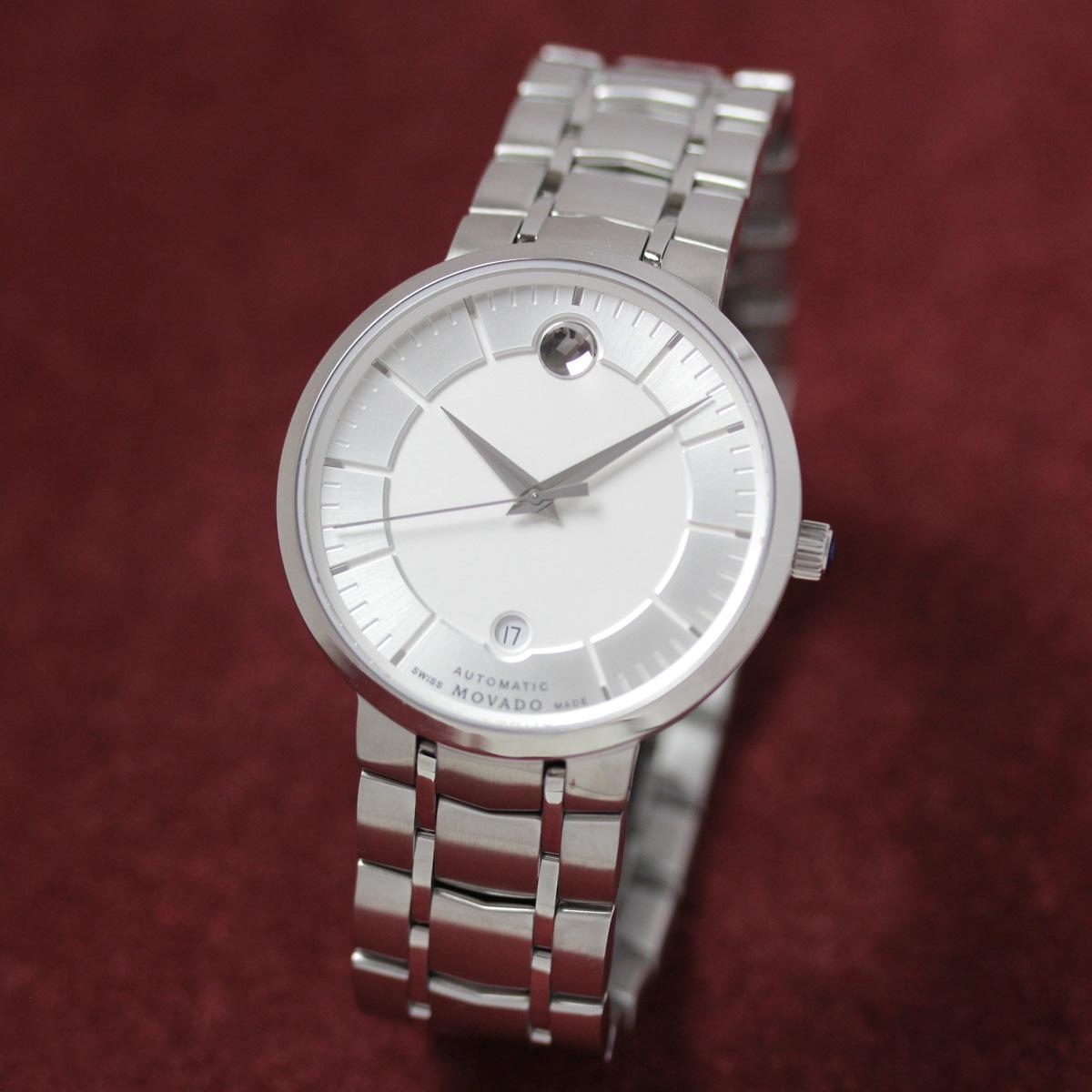 モバード 自動巻き 男性用腕時計m06069158105s