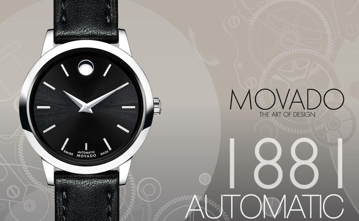 MOVADO(モバード)1881 AUTOMATIC m06069238103l