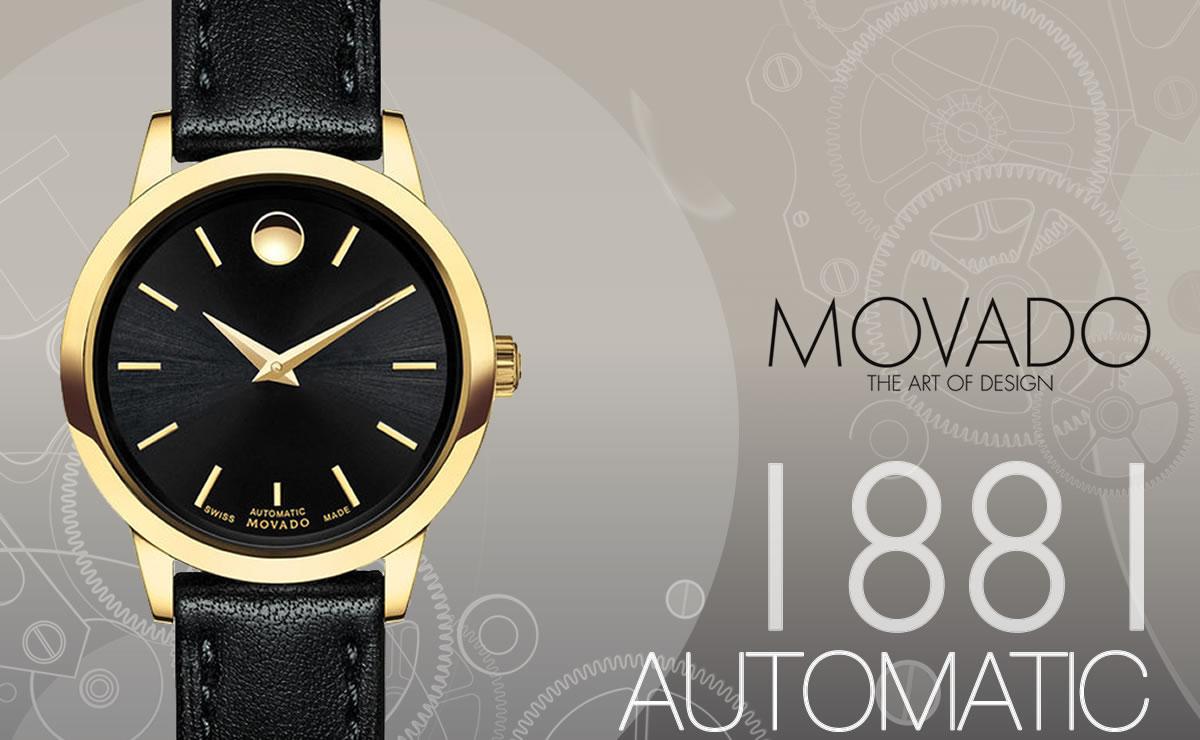 MOVADO(モバード)1881 AUTOMATIC m06069258303l