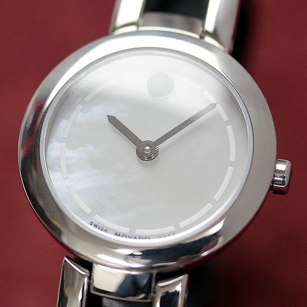 スイス時計 MOVADO アムローサ デュオ
